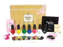 Набор для дизайна ногтей Konad Gold Set